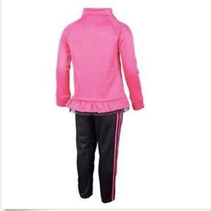 adidas Shirts & Tops - adidas Baby Girls' Tricot Zip Jacket and Pant Set